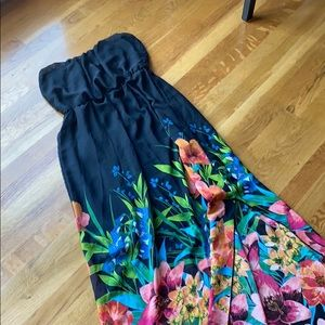 Maurices Maxi Floral Dress. Size large.